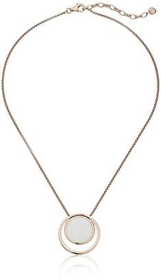 Skagen Sea Glass -Tone Necklace