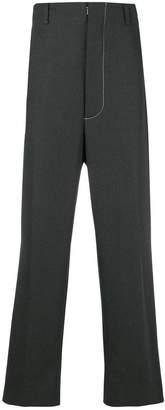Maison Margiela High waisted stitch trousers