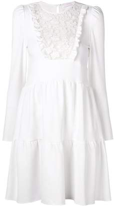 lace bib mini dress - White See By Chloé Discount 2018 Unisex Really Sale Online Original Cheap Online Clean And Classic Comfortable For Sale 7B8V8bdm