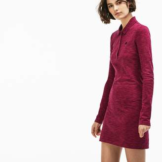Lacoste Women's LIVE Slim Fit Stretch Pique Polo Dress
