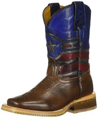 Justice Tin Haul Shoes Boys' Western Boot 10 Medium US Toddler