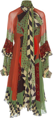 Etro Leya Multi Print Dress