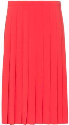 Burberry Farrah pleated midi skirt