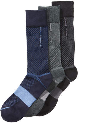 Perry Ellis Men's 3-Pk. C-Fit Performance Dress Socks