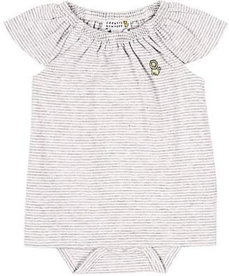 Barneys New York Infants' Striped Dress - Gray