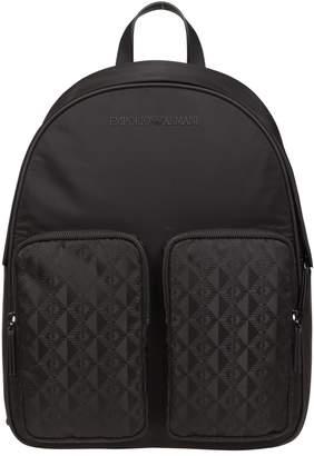 Emporio Armani Ny Jacquard Backpack