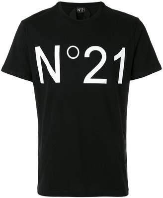 No.21 ロゴプリント Tシャツ