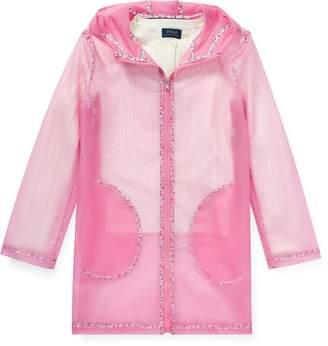 Ralph Lauren Floral Transparent Raincoat