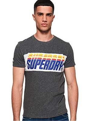 Superdry Men's Men's T-Shirt Triple Drop POP Panel TEE