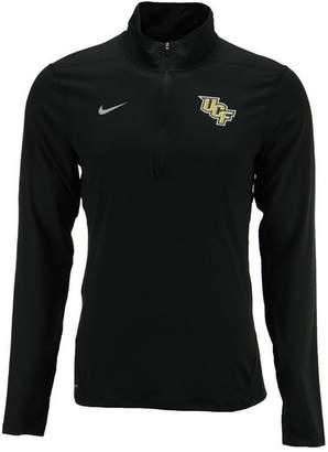 Nike Men's University of Central Florida Knights Solid Dri-fit Element Quarter-Zip Pullover