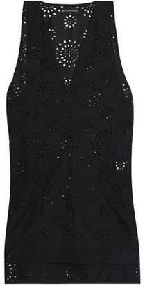 Vix Paula Hermanny Vix Paulahermanny Broderie Anglaise Cotton Mini Dress