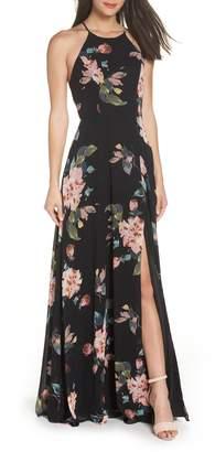 Jenny Yoo Collection Kayla Ohana Print Gown