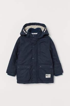 H&M Padded Parka - Blue