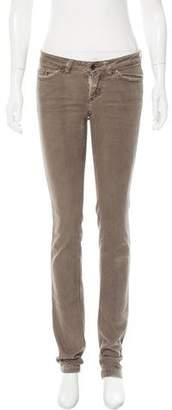 Dolce & Gabbana Straight-Leg Low-Rise Jeans