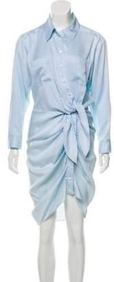 Veronica Beard Button Down Midi Dress