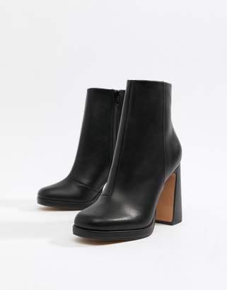 Asos DESIGN Emira platform boots