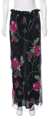 Giorgio Armani Embellished Maxi Skirt w/ Tags