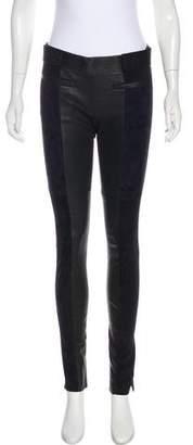 Isabel Marant Mid-Rise Belted Leggings