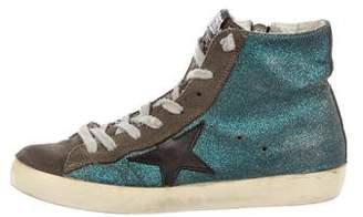 Golden Goose Francy Glitter Sneakers