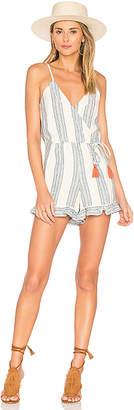 Tularosa Amelia Romper in Ivory $158 thestylecure.com