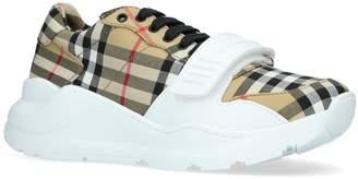 Burberry Regis Vintage Check Low Top Sneakers