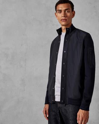 Ted Baker GONDOG Funnel neck nylon jacket