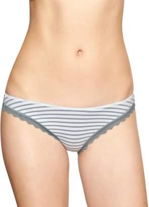 Gap Eyelet-lace trim skinny bikini