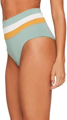 L-Space L Space Portia Reversible High Waist Bikini Bottoms