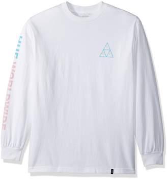 HUF Men's Triple Triangle Ls Tee