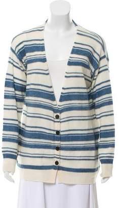Raquel Allegra Tie-Dye Wool Cardigan w/ Tags