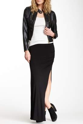 Loveappella Side Shirred Skirt