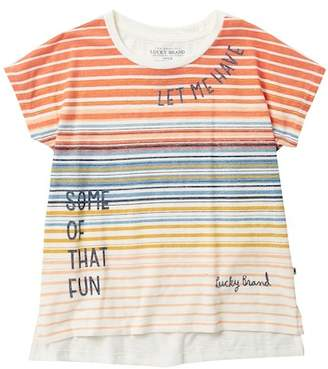 Lucky Brand Verena Tee (Big Girls)