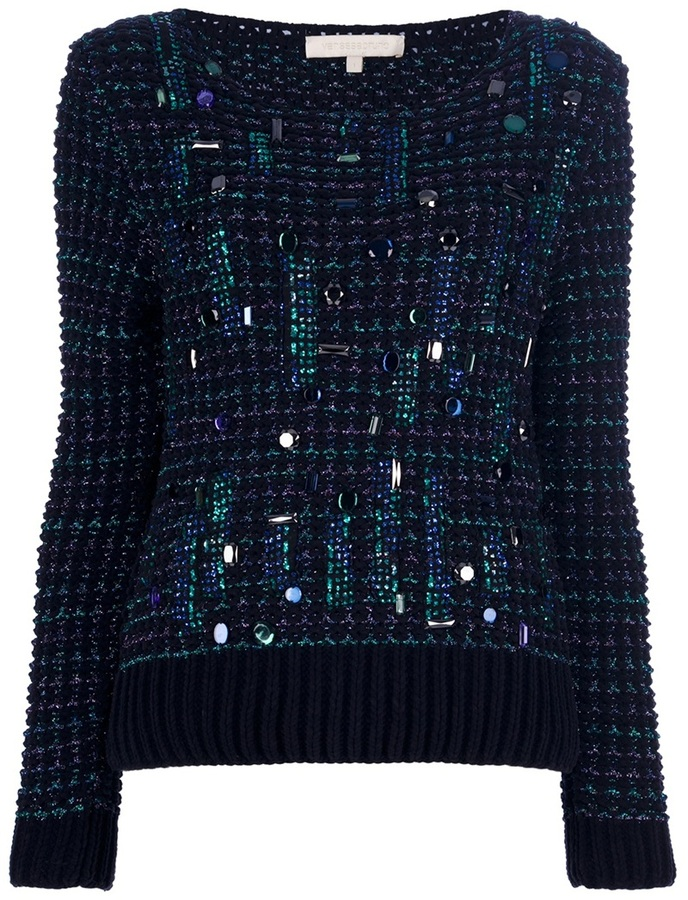 Vanessa Bruno Embellished Sweater