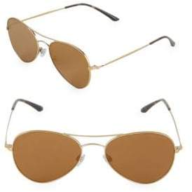 Giorgio Armani 54MM Aviator Sunglasses