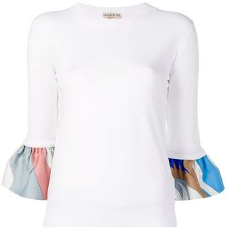 Emilio Pucci contrasting sleeves jumper