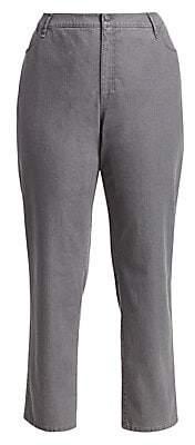 Lafayette 148 New York Lafayette 148 New York, Plus Size Women's Bella Curvy Slim-Leg Jeans