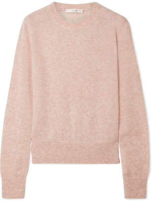 The Row Minco Cashmere And Silk-blend Sweater - Pink