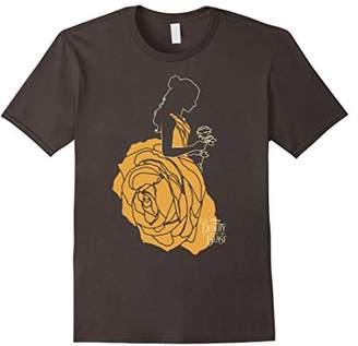 Disney Beauty & The Beast Belle A Rose Dress Graphic T-Shirt