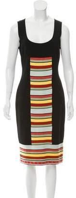 Fendi Sleeveless Midi Dress w/ Tags