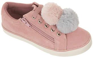 John Lewis Children's Paige Pom Pom Suede Shoes