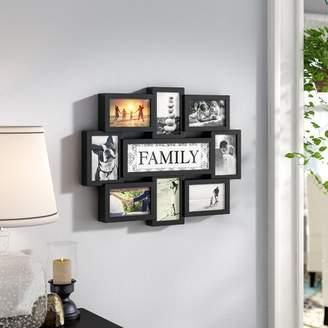 DAY Birger et Mikkelsen Winston Porter Giddings Family Theme Wall Hanging 8 Opening Photo Sockets Picture Frame