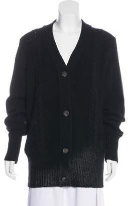 MM6 MAISON MARGIELA Wool Oversize Cardigan