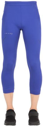 Nylon Stretch Ski 3/4 Tights $101 thestylecure.com