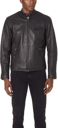 Polo Ralph Lauren Leather Cafe Racer Jacket