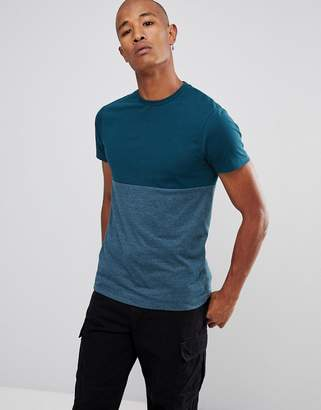 Asos DESIGN T-Shirt With Contrast Body