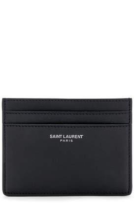 9b8618c0dc4 Saint Laurent Black Men s Wallets - ShopStyle