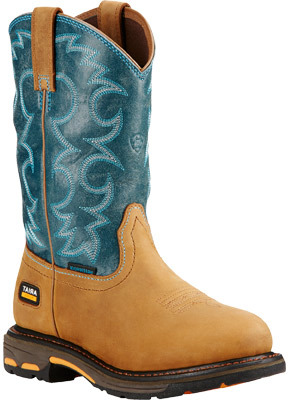 Women's Ariat Workhog Pull-On H2O Cowgirl Boot