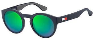 Tommy Hilfiger Essential-Pure 49mm Round Sunglasses