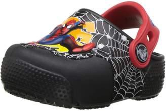 Crocs Boy's Crocsfunlab Lights Spiderman Clog