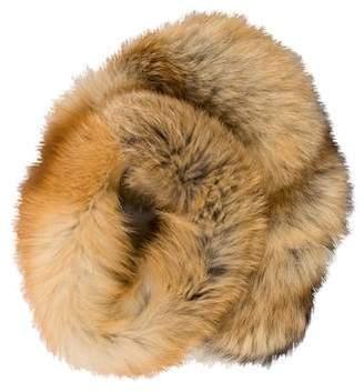 Blumarine Fox Fur Scarf